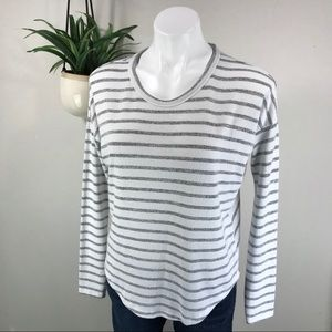 Rag & Bone XS Hudson Striped Tee Shirt Knit Top